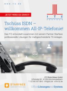 Tschüss ISDN - willkommen All-IP-Telefonie!