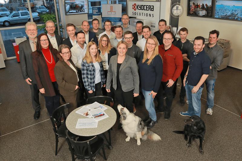 Gruppenbild ITZ Team - Danke für ein tolles Miteinander!
